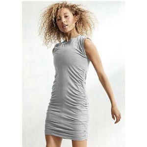Athleta Apres Tee Shirt Dress in Gray M